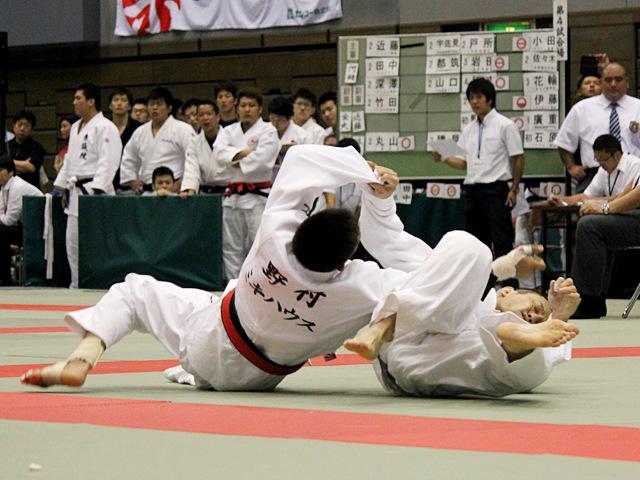 2回戦 野村忠宏vs阿部泰博�E