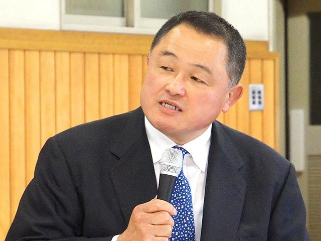 全日本柔道連盟 山下泰裕強化委員長