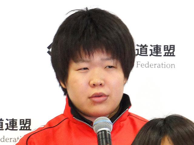 女子78kg級 梅木真美(環太平洋大学4年)
