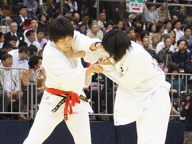 平成28年全日本選抜柔道体重別選手権大会 女子78kg級 1回戦 梅木真美 vs 泉真生