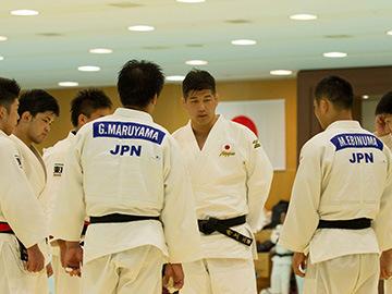 第2回 リオデジャネイロ五輪・柔道男子日本代表強化合宿