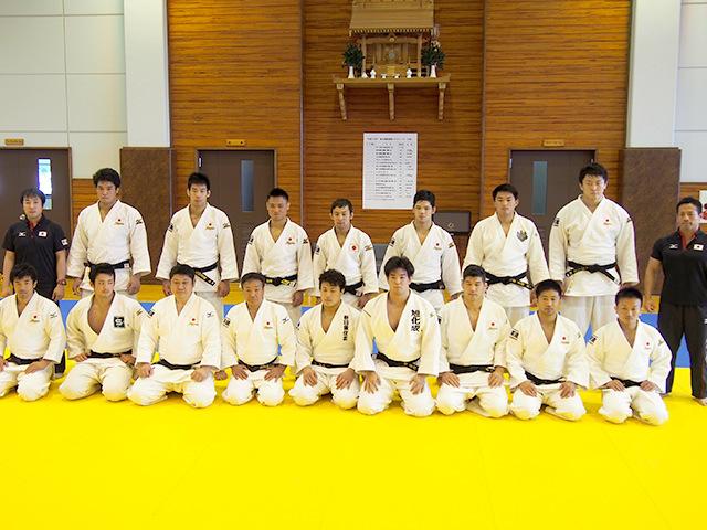 第3回 リオデジャネイロ五輪・柔道男子日本代表強化合宿
