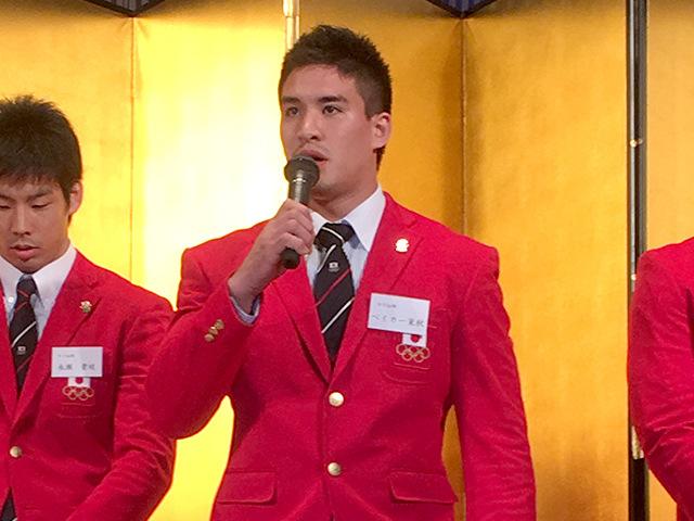 男子90kg級金メダリスト ベイカー茉秋