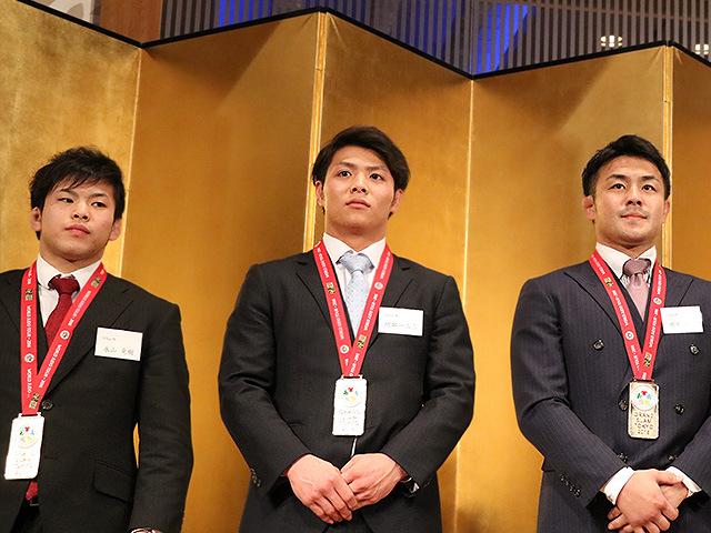永山竜樹・阿部一二三・橋本壮市選手