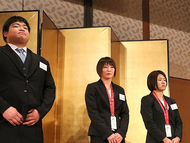 王子谷剛志・角田夏実・芳田司選手