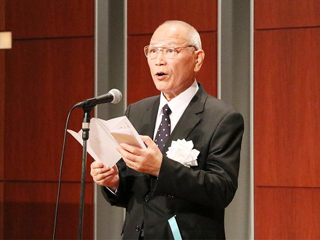 講道館評議委員・東京都柔道連盟会長 関根忍氏