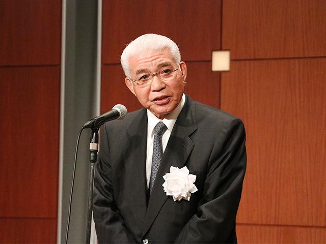 講道館理事 松下三郎氏