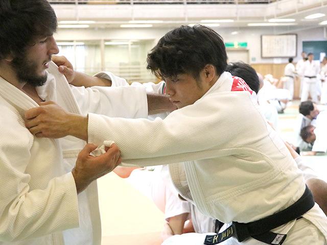 男子66kg級 阿部一二三選手(日本体育大学3年)�@