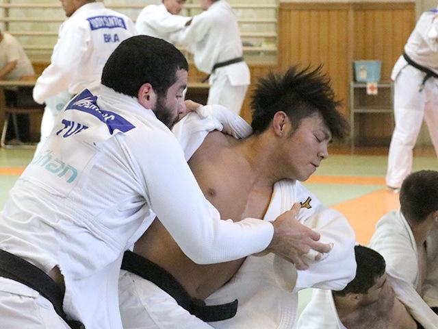 男子66kg級 阿部一二三選手(日本体育大学3年)�A
