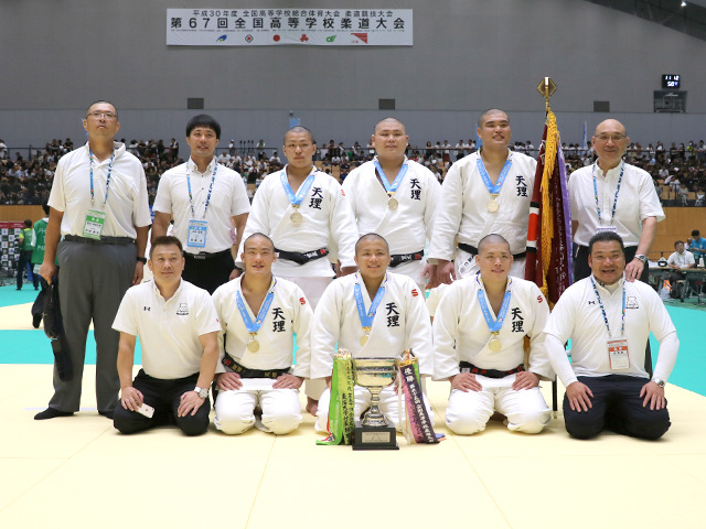 インターハイ男子柔道団体戦・天理高校が27年ぶりの優勝!