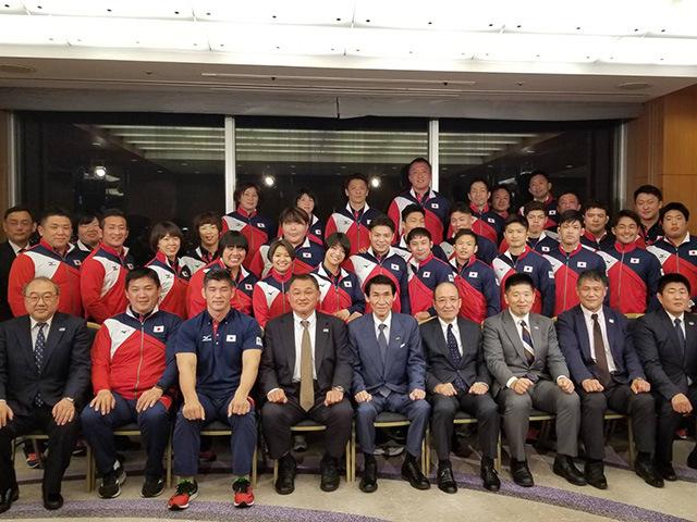 世界柔道選手権大会 代表選手の強化合宿