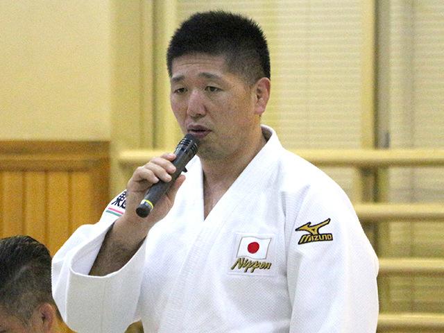 バクー世界柔道選手権大会 日本選手団・団長 金野潤氏