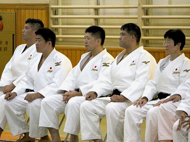 バクー世界柔道選手権大会 監督・コーチ陣