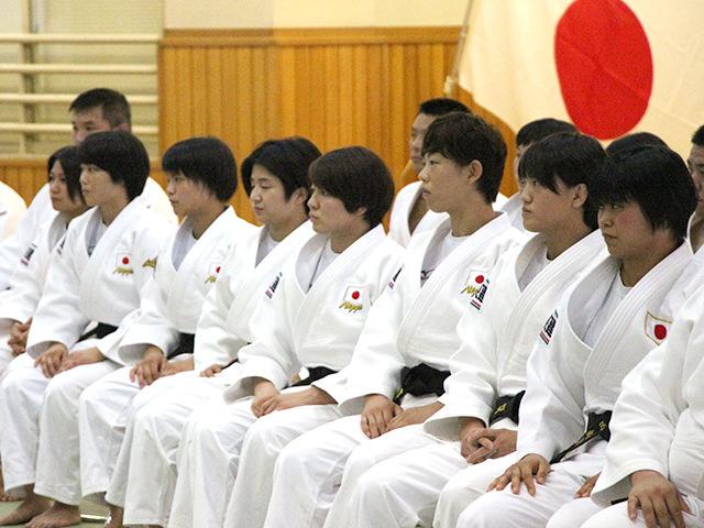 バクー世界柔道選手権大会 女子代表選手団