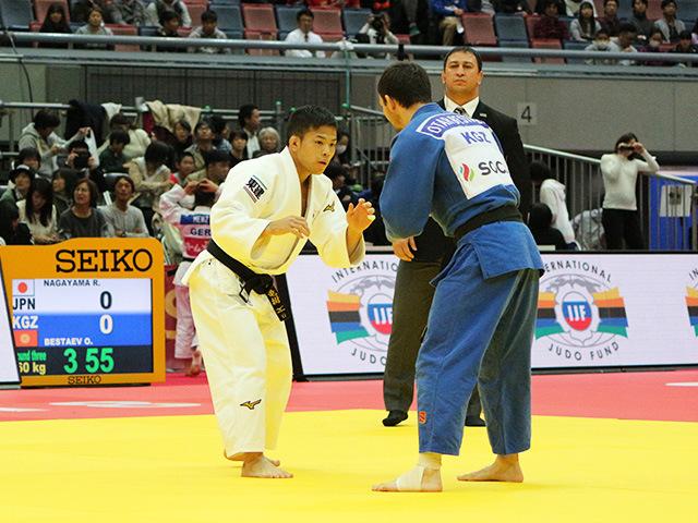 男子60kg級 3回戦 永山竜樹 vs O.BESTAEV