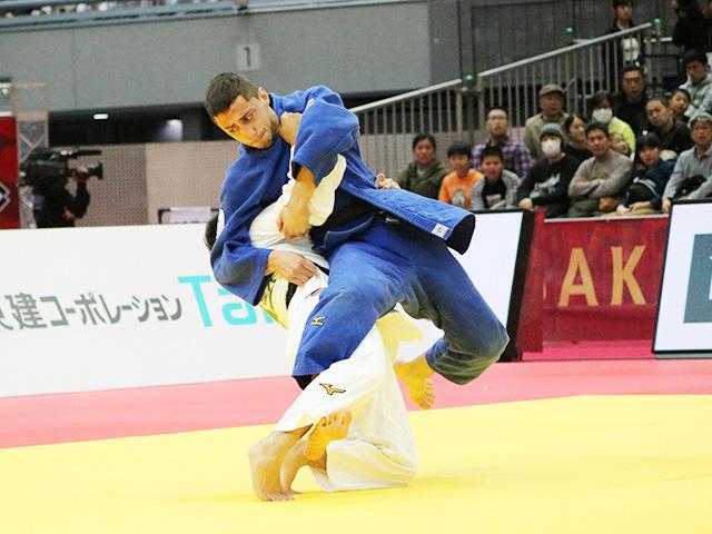 男子60kg級 永山竜樹 vs Y.ABULADZE
