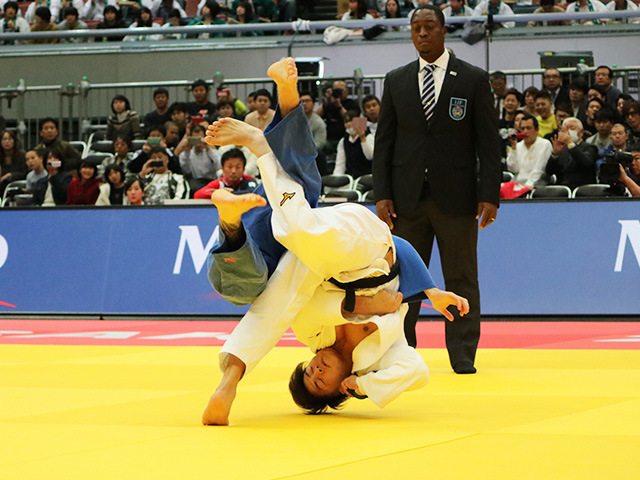 男子66kg級 3回戦 阿部一二三 vs L.KIELBASINSKI