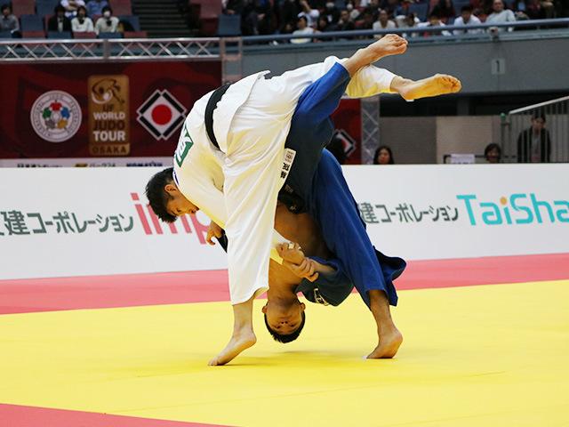 男子66kg級 準決勝戦 藤阪太郎 vs 丸山城志郎