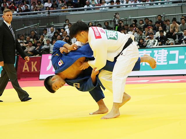 男子66kg級 阿部一二三 vs 丸山城志郎