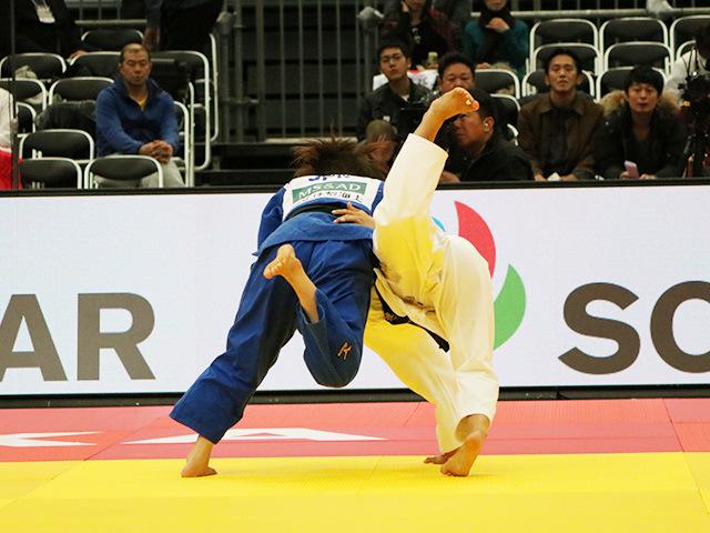 女子48kg級 準決勝戦 渡名喜風南 vs 遠藤宏美�@