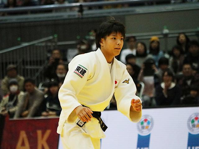 女子52kg級 準決勝戦 阿部詩 vs 志々目愛