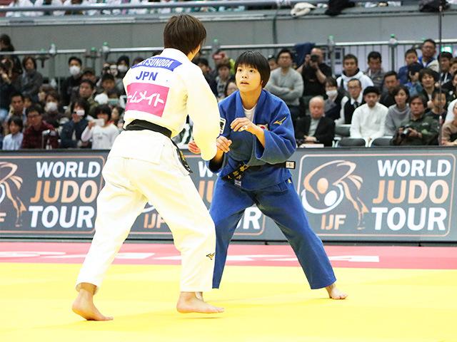 女子52kg級 決勝戦 角田夏美 vs 阿部詩�@