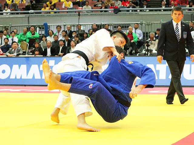 男子73kg級 準々決勝戦 大野将平 vs B.CILOGLU