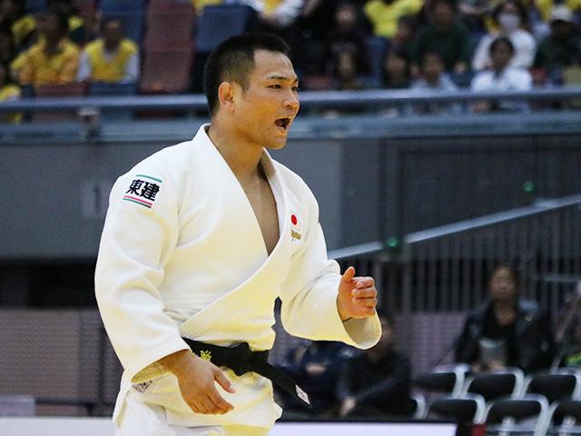 男子73kg級 準決勝戦 海老沼匡 vs A.MARGELIDON