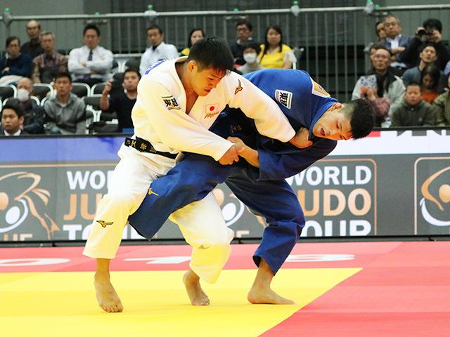 男子73kg級 立川新 vs 大野将平