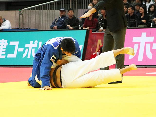 男子81kg級 3回戦 永瀬貴規 vs U.OTGONBAATAR