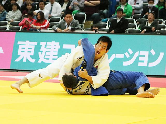 男子81kg級 準決勝戦 佐々木健志 vs A.EGUTIDZE