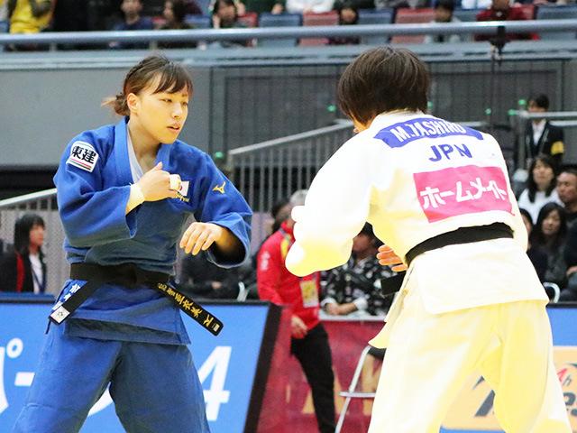 女子63kg級 田代未来 vs 能智亜衣美