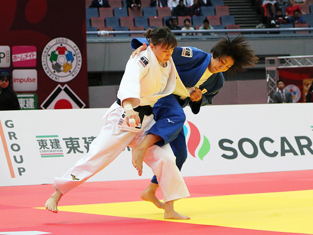 女子63kg級 準決勝戦 能智亜衣美 vs 鍋倉那美