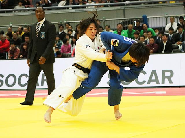 女子63kg級 決勝戦 土井雅子 vs 鍋倉那美�@