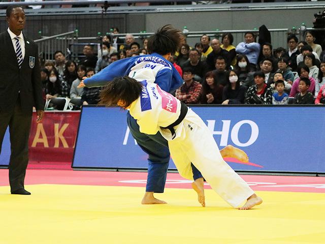 女子63kg級 土井雅子 vs 鍋倉那美