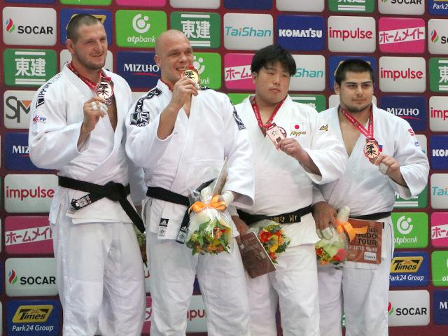男子100kg超級 表彰式