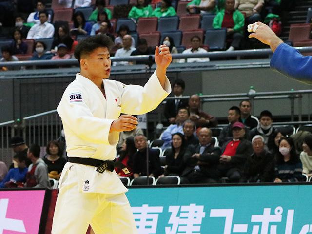 柔道グランドスラム大阪2018 男子90kg級 準決勝戦 向翔一郎 vs U.MARGIANI�@