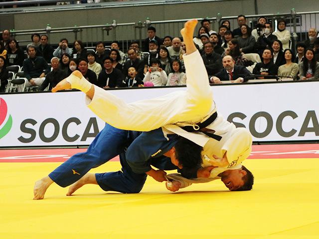 柔道グランドスラム大阪2018 男子90kg級 決勝戦 向翔一郎 vs N.VAN T END�A