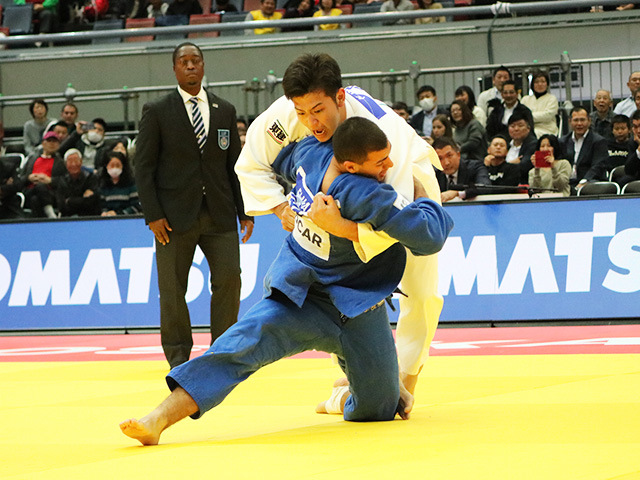 男子100kg級 準決勝戦 飯田健太郎 vs S.ELNAHAS
