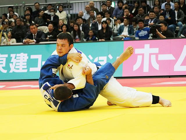 男子100kg級 ウルフアロン vs S.ELNAHAS