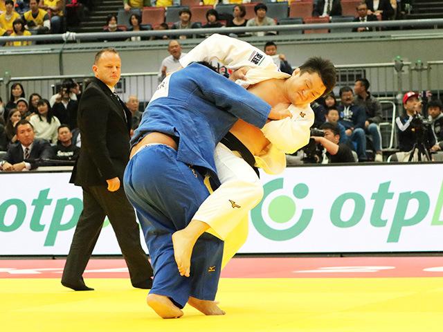 柔道グランドスラム大阪2018 男子100kg超級 2回戦 原沢久喜 vs T.NAIDAN