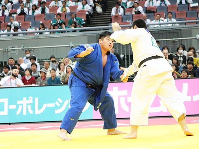 男子100kg超級 準々決勝戦 王子谷剛志 vs T.BASHAEV