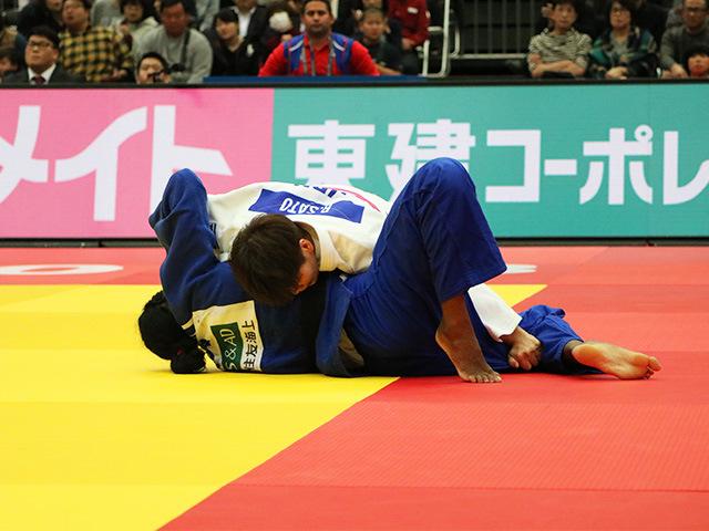 女子78kg級 準決勝戦 佐藤瑠香 vs K.ANTOMARCHI