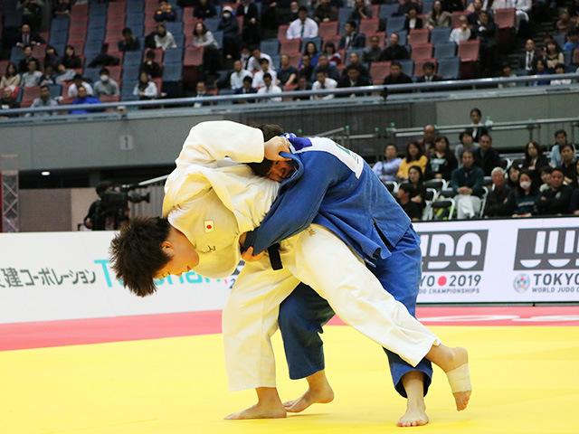 女子78kg級 梅木真美 vs 佐藤瑠香