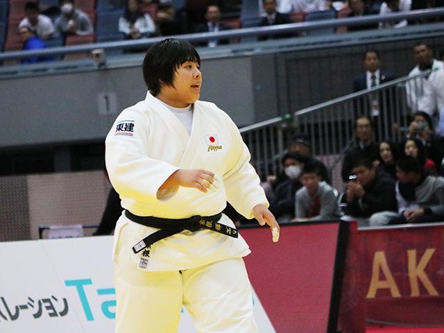 女子78kg超級 決勝戦 素根輝 vs I.ORTIZ�@
