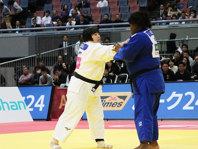 女子78kg超級 素根輝 vs I.ORTIZ