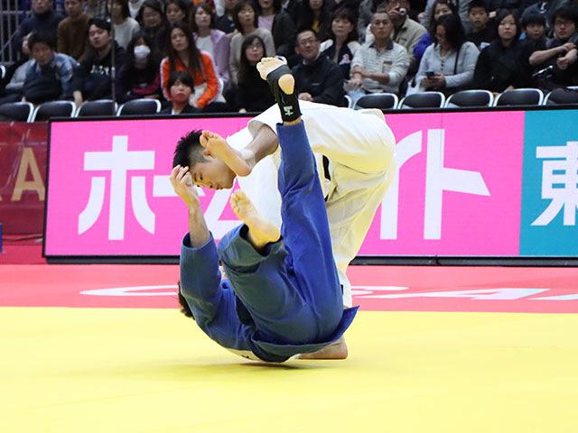 男子66kg級 丸山城志郎 vs J.VALOIS
