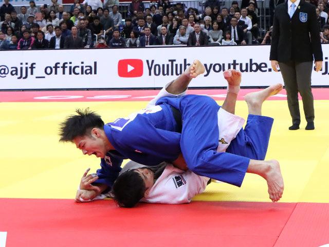 男子66kg級 丸山城志郎 vs 阿部一二三