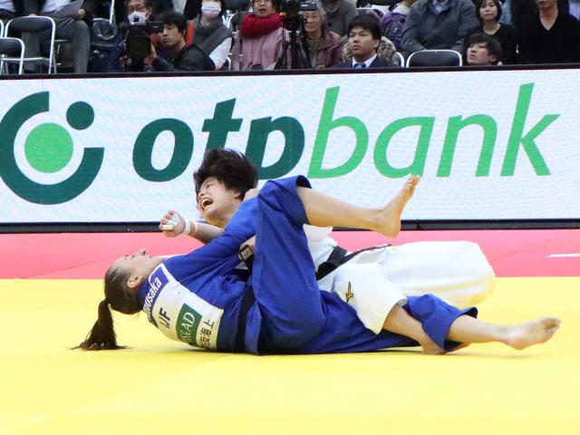 女子52kg級 阿部詩 vs E.GUICA