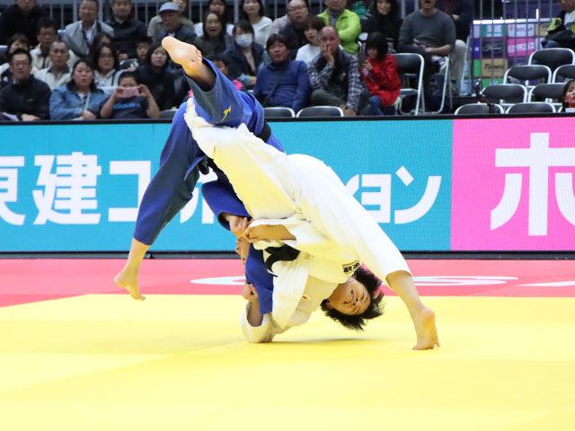 女子57kg級 芳田司 vs 玉置桃